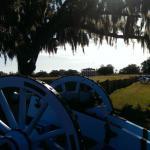 Chalmette Battlefield Cannons