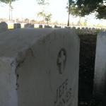 Chalmette Cemetery Tombstone